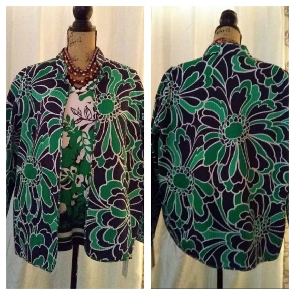 Alfred Dunner Jackets & Blazers - NWT3PC Alfred Dunner Jacket/Sweater/Pants sz 18/xl